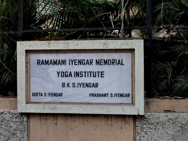 iyengar yoga institute