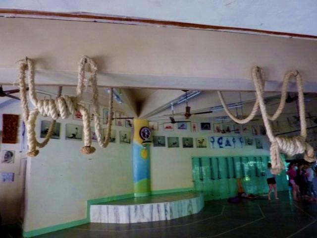 iyengar yoga practice room